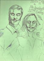 Zombie Rodgers and Col Deering by JohnReynolds