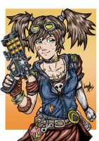 Gaige The Mechromancer feat. Unkempt Harold by LucaNnoCorE