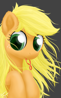Hairtie - AppleJack by SymbianL