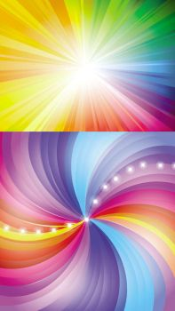 Radiance vector background by vectorbackgrounds