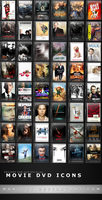 Movie DVD Icons 1 by manueek