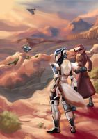 Destiny wastes of the cosmodrome by WatermelonStamp