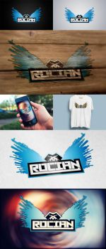 Rocian logo design by eduard2009