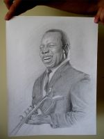 Louis Armstrong by Ike3d