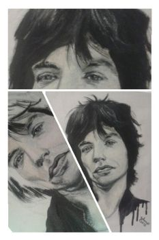 Mick Jagger by JohanaJ