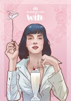 Mia Wallace by gomitas