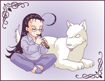 Wolf Charmer by ErinPtah