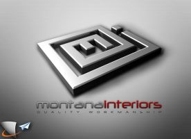 Montana interiors 3D logo by Infoworks