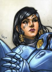 Pharah  (COPICS) by Khilleus