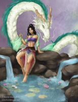 Guardian of the Lotus by BrandyWoods