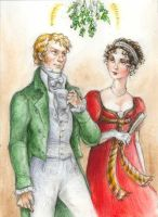 Regency Christmas Card by suburbanbeatnik