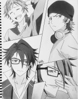 K project : Yata and Saruhiko by step-on-mee