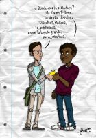 Troy and Abed by stayte-of-the-art