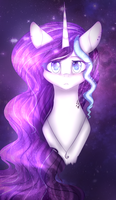 Beautiful space pony - FA by KarinaNight125