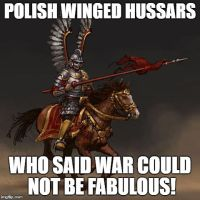 Polish winged hussars Meme by Alchetbeachfan