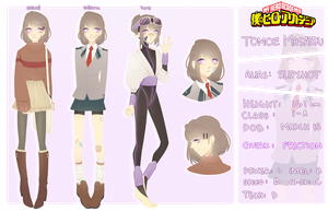 bnha oc: tomoe [bio] by seungcheol