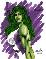 She Hulk by rllas