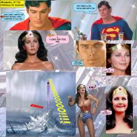 SUPERMAN AND WONDER WOMAN - YES by godstaff