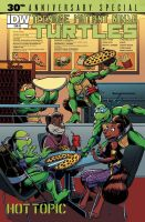 TMNT 30th Annivesary Cover by angieness