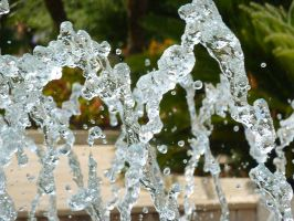 Water in Motion II by AtomicBrownie