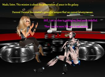 Barbarella Story Part 2 by Mary-Margret