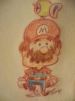 Mario with F.L.U.D.D. by LaundryPile