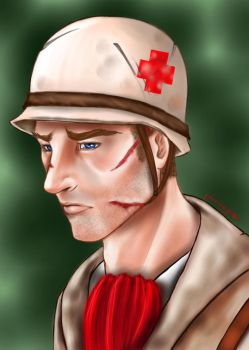 Soldier by grinningjester