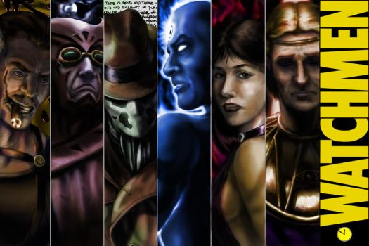 The Watchmen by Doomsplosion