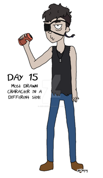 Day 15 - Different Style by Just-Joeying