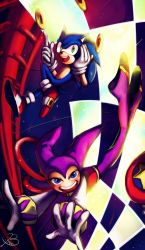 sonic and nights by BBrangka