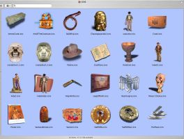 Indiana Jones Mac Icons by redvideo