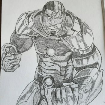 Cyborg by CambodianFire