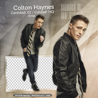 Pack png 553 - Colton Haynes by worldofpngs