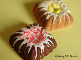 Square Bundt Cakes by birdielover