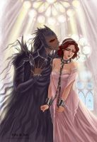 Captive queen by jen-and-kris