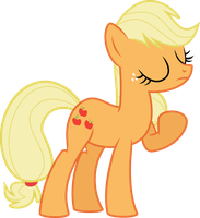 Applejack Vector by Kamyk962