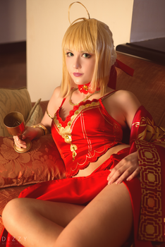 Fate/Extra - Nero colosseum 2 by KiaraBerry