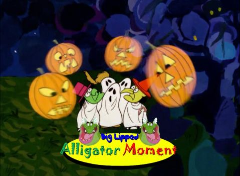 A Big Lipped Alligator Monet in ITGP Charlie Brown by Uranimated18