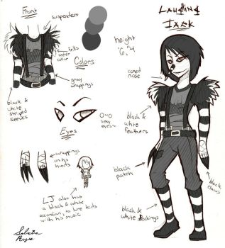 Laughing Jack Ref by SabrinaNightmaren