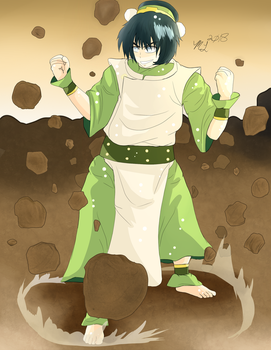 Amazing Toph the Earth Bender 2018 by MeghansDreamDesigns