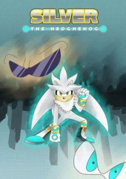 Silver the Hedgehog new cover by filibolt
