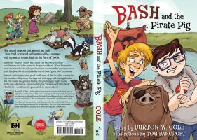 Bash and the Pirate Pig COVER by tombancroft