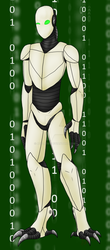Unknown robot by Adela555