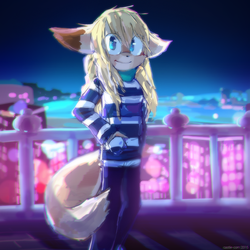 Over night city by Castle-com