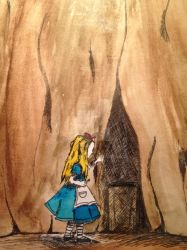 Alice Behind The Small Door by IamDying