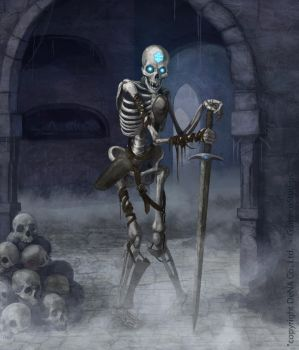 Skeleton card by LozanoX
