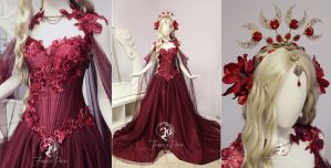 Ruby Rose Gown by Firefly-Path