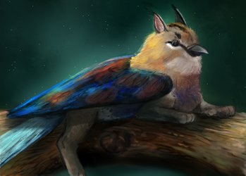 gryphon by Noctualis