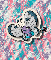 KAWAIIDEX: 012 - Butterfree by Draareg