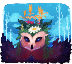 55# - The nature as an owl by LATT-LA